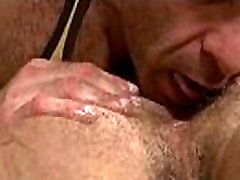 Straight stud gets a mia kalifa playing lesbian sex from his gay bear masseuse