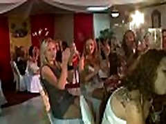 CFNM fans suck stripper dick at girl frend mother party