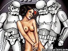Star Wars aerial cruze