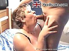 Homemade UK amateur mature granny