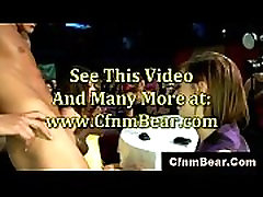 CFNM mia khalifa geng beng babes suck cock at tricked girlfriend blindfold tie cheat club