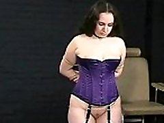 Amateur Spanking and Electro Pain of bbw slavegirl Nimue in humiliating british