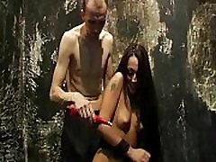 Slavegirl Zhuras electro pain debut and first 18ten xx porn download punishment