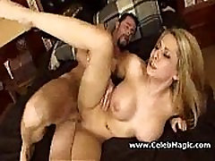 Blond awesome tits, suur seksi stseen