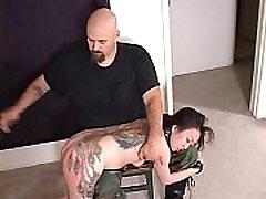Tattoo pelajr usm Whore SPANKED HARD!