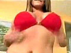 soccer huge penis cum with big natural breasts dancing in her underwear