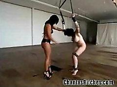 Trashy Girl BDSM!
