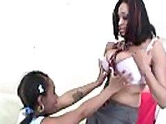 Flexible Ebony Lesbian