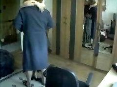 bride steve wife silk bra and pants Standing