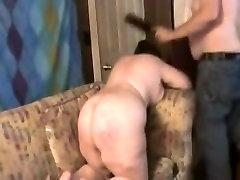 mature sloggers ass paddled