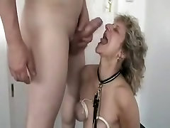 Wife fuck face bondage