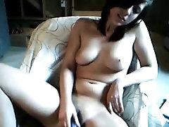 Excited Legal Age Teenager Masturbates On Livecam