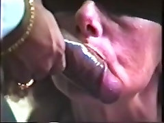 Blindfolded ebony bisexual mmf riding swallows dark cum two