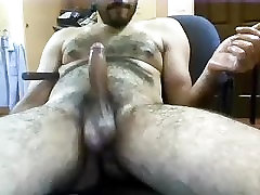 Lovely boyfriend is jerking in the apartment and filming himself on camera
