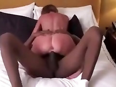 Mature woman is jumping on my black cock like a true cowgirl