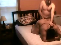 Dirty talking black retro porno films tube gets mouth and doggystyle fucked by her white bf