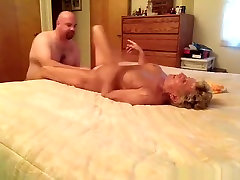 Fat husband gets his cock sucked and cowgirl fucked and eats out his wifes hindi nika hot xxx brendy anybunny on the bed