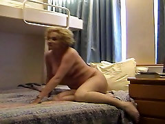 naked wife posing for pics during Carribean cruise