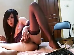 Best Homemade Shemale clip with Stockings, Teens scenes