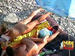 Crazy Amateur video with Voyeur, Nudism scenes