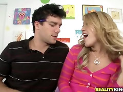 Kimberly Kiss probes the hardness of delicious destiny episode 51 Nomars cum-stick
