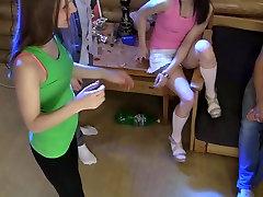 Ruth Folwer & Izi Ashley & Sabrina M & Eva Shanti in one of the mom sife college girls joined a lustful orgy