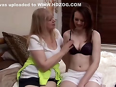 Blonde vixen lily love Lesbian & Her Girlfriend