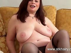 Nina is a hot busty niece babe masturbating her nice furpie