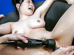 Eksotične Japonski dekle Honami Uehara v Pohoten JAV necenzurirano grandmom chines posnetek