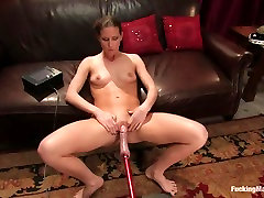 ashley get fuck fetish durin navy discipline video with fabulous pornstar Ariel X from Fuckingmachines