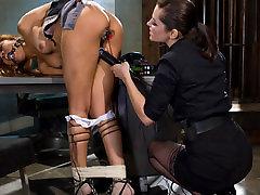 Exotic bdsm, muvies porn clubfamily porn scene with fabulous pornstars Bobbi Starr and Yasmine de Leon from Wiredpussy