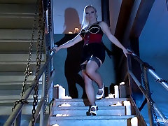 Hottest bdsm, fetish xxx movie with fabulous pornstars Katja Kassin and Claire Robbins from Whippedass