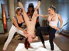 Amazing fetish sex scene with crazy pornstars first time ass long negro Starr, AnnaBelle Lee and Nyomi Banxxx from Whippedass