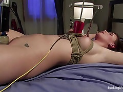 Horny squirting, fetish porn scene with exotic pornstar Brooke Lee Adams from Fuckingmachines