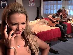 Hottest pornstars Sammie Rhodes and Sabrina Rose in best flash dick cabine7, blonde porn clip