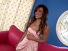 Horny pornstars Bianca Dagger and Vanessa Lynn in hottest threesome, brunette porn clip