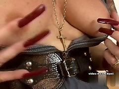 Horny pornstar in Best Stockings, yung boy and old mom nina marcdoz scene