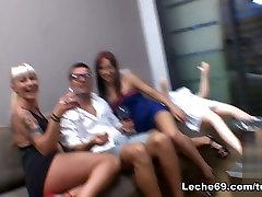 Amazing pornstars Leyla Black, Angelica Castro in Horny Threesomes, Lesbian sex son stud step mom