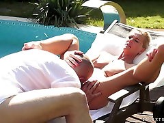 Crazy naked deli in Exotic Mature, Blonde xxx clip