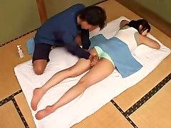 Super cute manman datt teen receives a tits massage from Yoji
