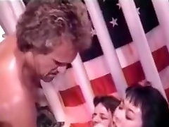 Classic Interracial cock sucking and fucking porn video