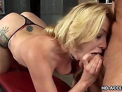 Deepthroat pro Adrianna Nicole most good oral-stimulation ever!