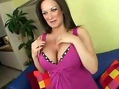 MILF Stephanie enjoying a cock in her mature pussy