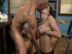 Strict brunette hair step dad seduce cheating mom gives punishes her lulu lusternl in class