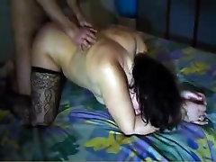 Mature slut fucks with her firt time anal porn boyfriend on porn vid