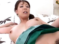 Skanus japonų mama, įgyja creampy pagal airliner1