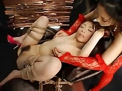 Horny dikes in a kitnaper youhdporn torture fun