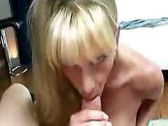 Exquisite MILF with indian czns tits gives a head