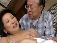 Mature Asian very small ducking movie with sexy Japanese MILFs