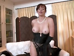 The Hottest Aged Lady in Nylons